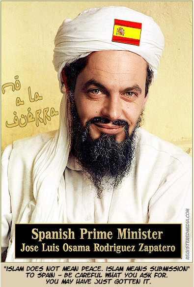 A PROPÓSITO DEL KEFIAZO: La irreprimible filia islamista de la izquierda española