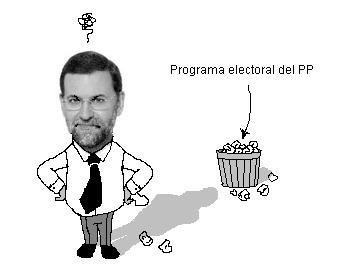 Autorretrato de una insuficiencia: El divorcio de Rajoy